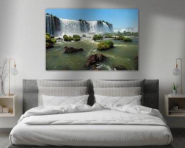 De watervallen van Iguaçu van OCEANVOLTA