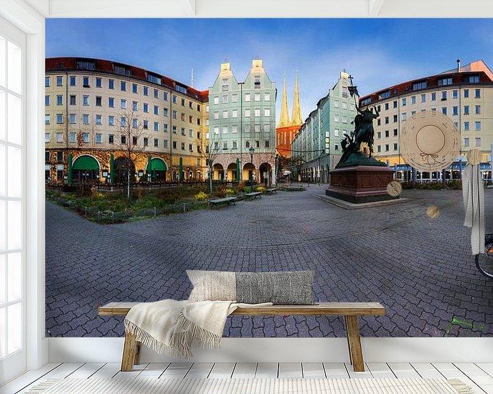 Impression: Panorama du quartier Nikolai à Berlin sur Frank Herrmann