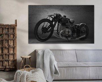 Concept Motorcycle front Black van H.m. Soetens