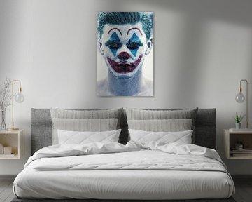 Joker im Regen