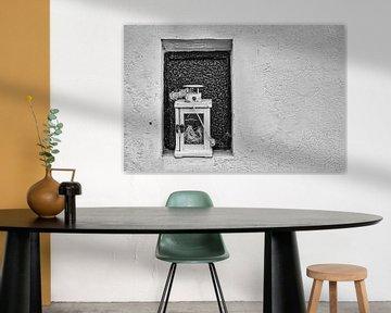 Lamp in een nis. van Wijnand Medendorp