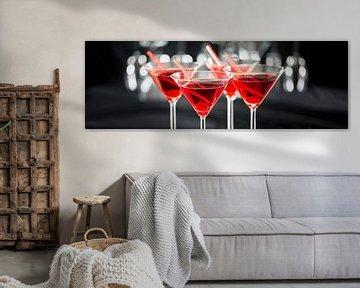 Cocktails in de bar van Uwe Merkel
