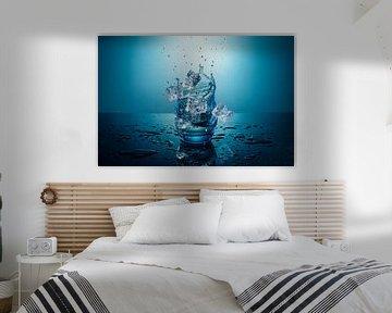 Vallende ijsblokjes van René van der Horst