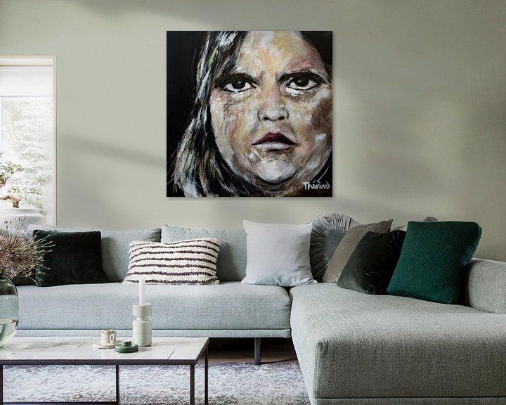 Beispiel: Porträt von Hackbraten. von Therese Brals