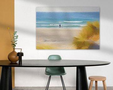 strandwandeling van Alexandra Kleist