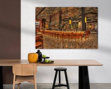 Starbucks Reserve Roastery Milaan van Rene Ladenius Digital Art