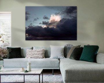 Thunderclouds van Sonja Pixels
