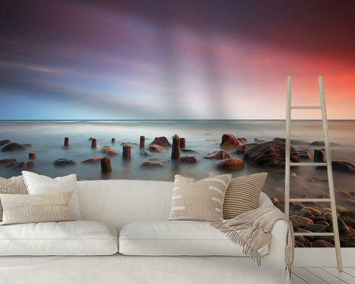 Beispiel fototapete: Am Strand des  Meeres von Frank Herrmann