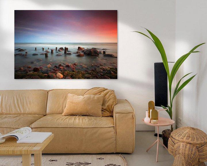 Beispiel: Am Strand des  Meeres von Frank Herrmann