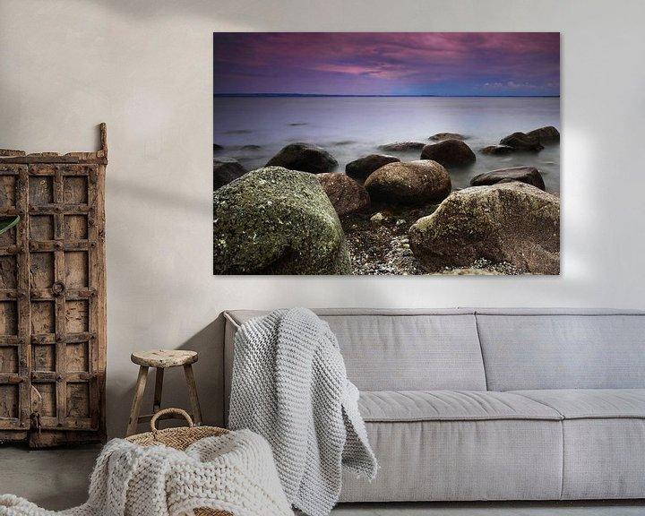 Beispiel: Steine am Meer von Frank Herrmann