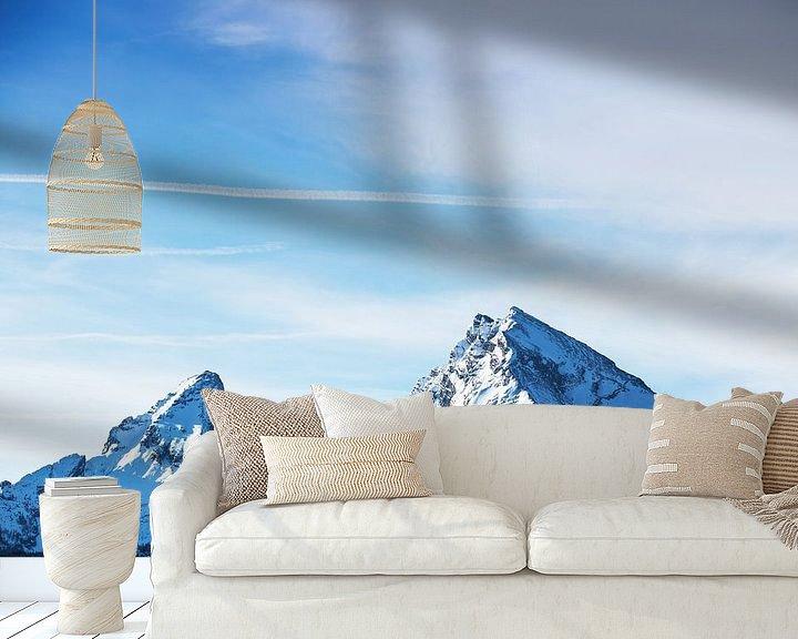 Sfeerimpressie behang: Watzmann van Frank Herrmann