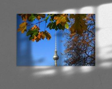 Tour de télévision de Berlin en automne