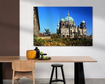 La cathédrale de Berlin dans le Lustgarten