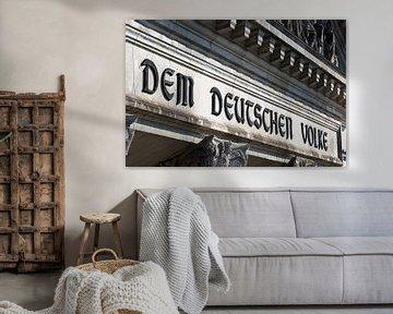 Ecrire sur le Reichstag