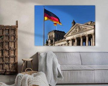 Bâtiment du Reichstag de Berlin (Bundestag allemand)