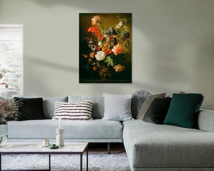 Sfeerimpressie: Bloemenvaas, Volger van Jan van Huysum