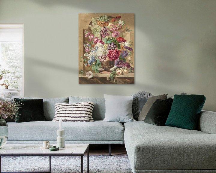 Beispiel: Blumenstück, Pieter van Loo