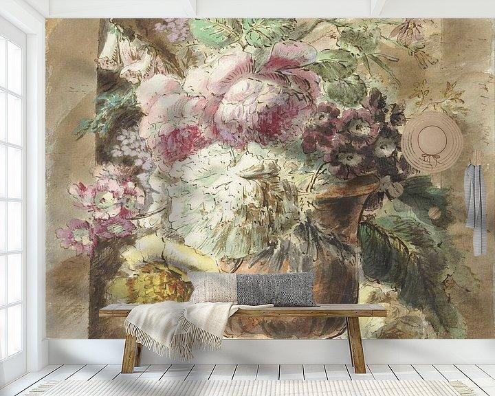Beispiel fototapete: Blumen, Pieter van Loo