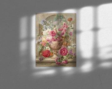 Vase mit Blumen, Pieter van Loo