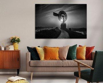 Amerikaanse windmolen van Johanna Blankenstein