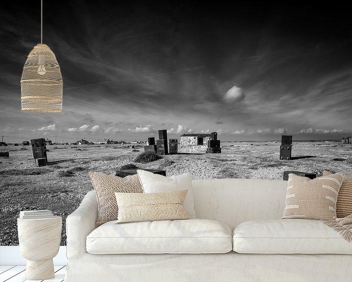 Sfeerimpressie behang: The cloud van Johanna Blankenstein