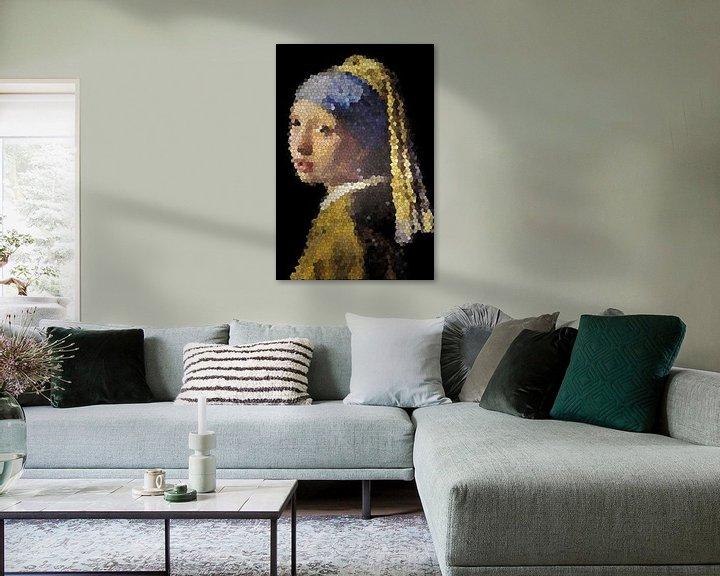Beispiel: Das Mädchen mit dem Perlenohrring von Jessica Berendsen