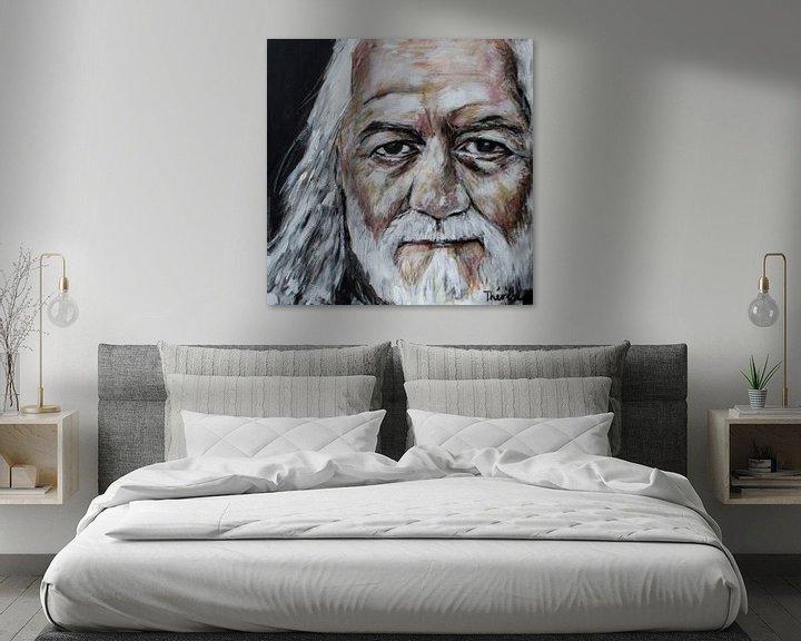 Sfeerimpressie: Portret van Mick Fleetwood, Michael John Kells van Therese Brals