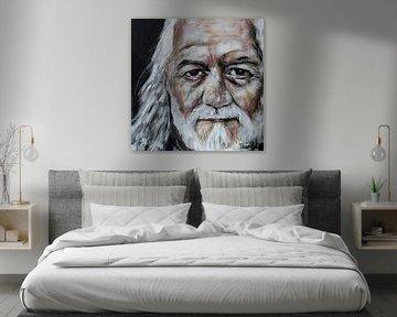 Portret van Mick Fleetwood, Michael John Kells van Therese Brals