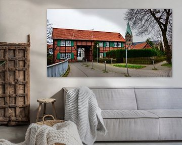 Westerholt Panorama 2 van Edgar Schermaul