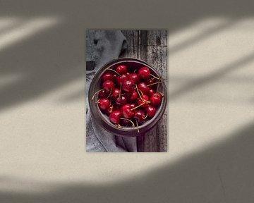 SF12240375 Verse kersen in een bakje van BeeldigBeeld Food & Lifestyle