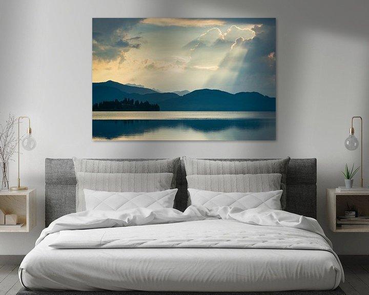 Beispiel: Morgen am Walchensee von Martin Wasilewski