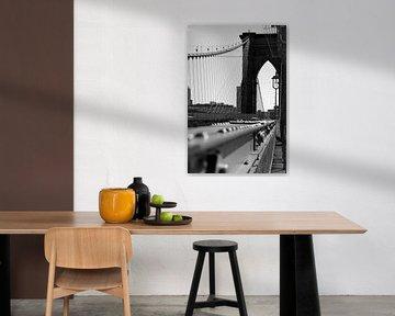 Brooklyn Bridge, NYC van Pieter Boogaard