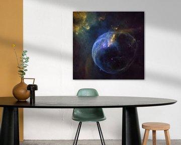 Hubble Galaxy Photo van Brian Morgan