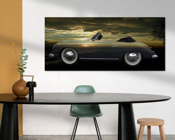Beispiel: Porsche 356 A 1500 Super on sunset von aRi F. Huber