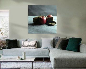 analoog studio portret. van Sanne Van der avoird