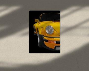 Porsche 911 G-Modell in yellow von aRi F. Huber