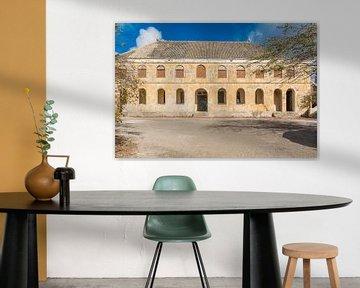 Quarantäne-Haus - Caracas Bay Insel Curacao von Joke Van Eeghem