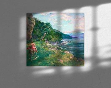 Ein Zaumpfad in Tahiti, John LaFarge