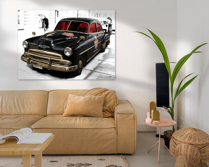 Beispiel: Chevrolet Deluxe with Havana Club von aRi F. Huber