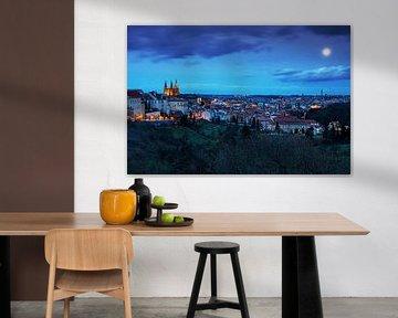 Prag city skyline