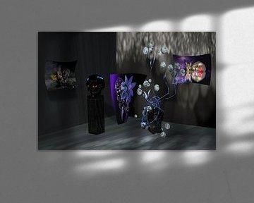 Kleine Galerie mit Skull von Norbert Barthelmess