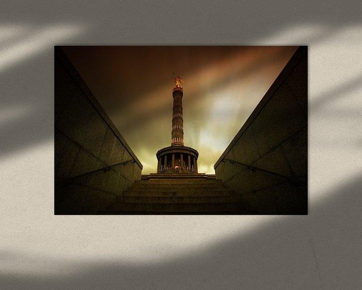 Impression: Colonne de la Victoire Berlin sur Frank Herrmann
