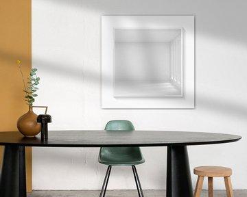 The Room - Minimal Art in White van Marja van den Hurk