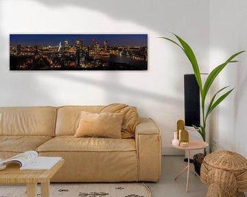 Skyline Rotterdam II van Peter Sneijders