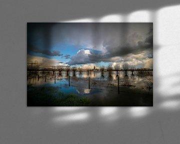 Skyline Zutphen van Arnold van Rooij