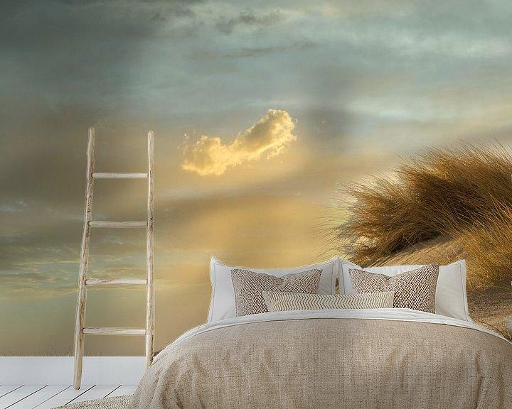 Beispiel fototapete: Düne und Wolke von Alexandra Van den Bossche