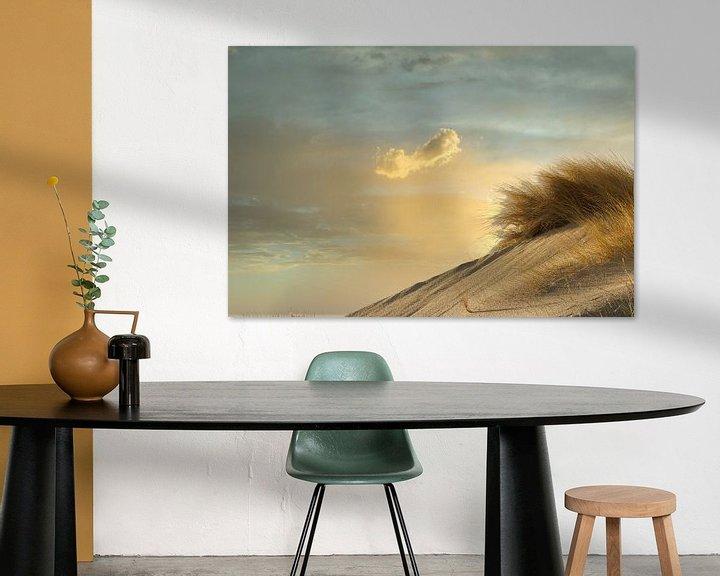 Beispiel: Düne und Wolke von Alexandra Van den Bossche