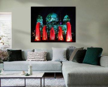 Vijf beelden voor de Berlijnse Dom