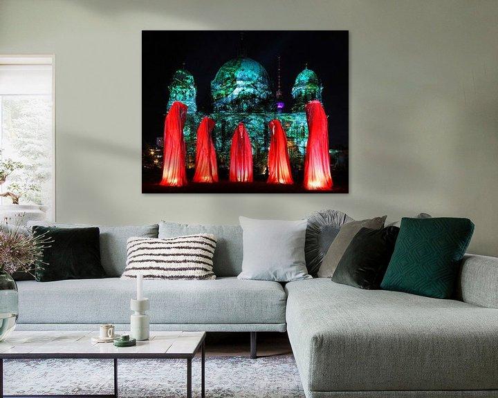 Sfeerimpressie: Vijf beelden voor de Berlijnse Dom van Frank Herrmann