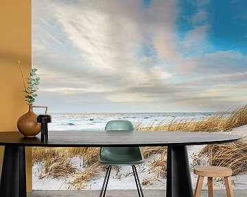 Nordseestrand Panorama von Florian Kunde
